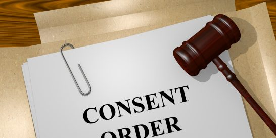 Consent Order concept